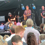 Paddy's Whiskers Playing to a Packed Crowd, Fishstock Festival, Brixham, 2012