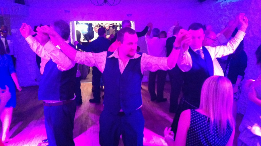 Great Wedding Ceilidh, at Bickley Mill, Devon