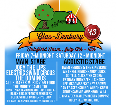 Paddy's Whiskers at Glas-Denbury Festival