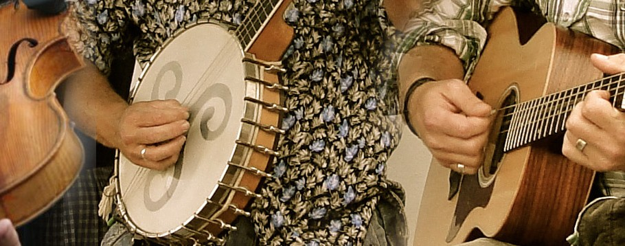 Banjo, Fiddle and Guitar