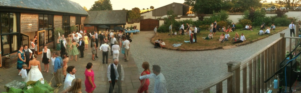 A Devon Barn Dance..in the Summer!