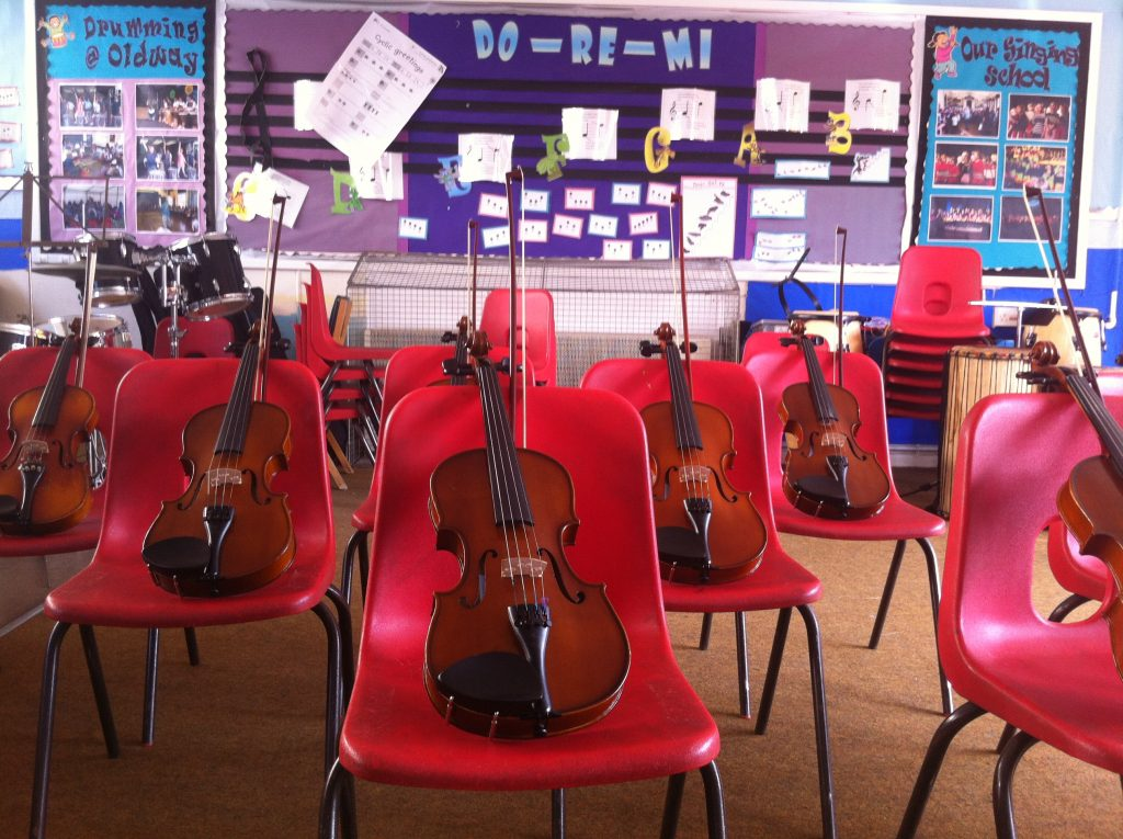Violin Workshops For Schools