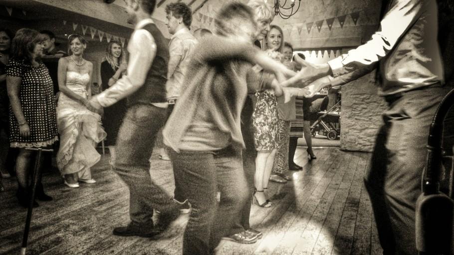 Wedding Barn Dance at Bickley Mill, Devon