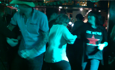Ceilidh Dancing At The Snooty Fox