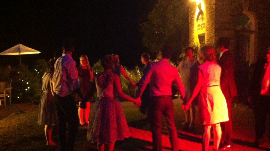 Wedding Ceilidh, Langdon Court, Devon