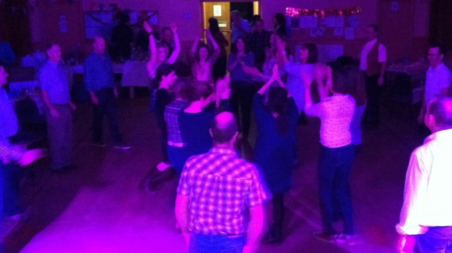 Birthday Barn Dance at Winkleigh, Devon