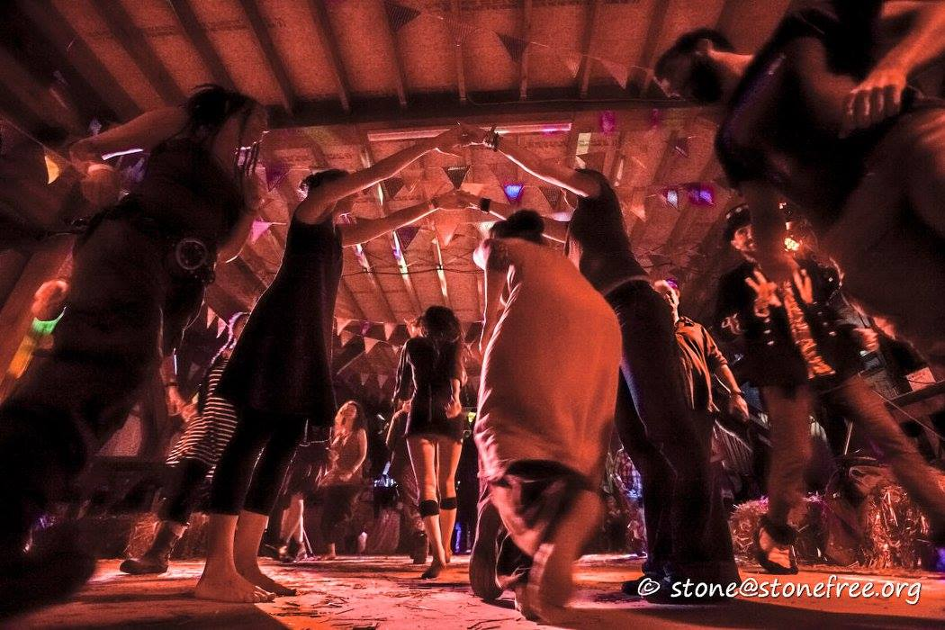 Ceilidh Barn Dance at Off Grid Festival Devon