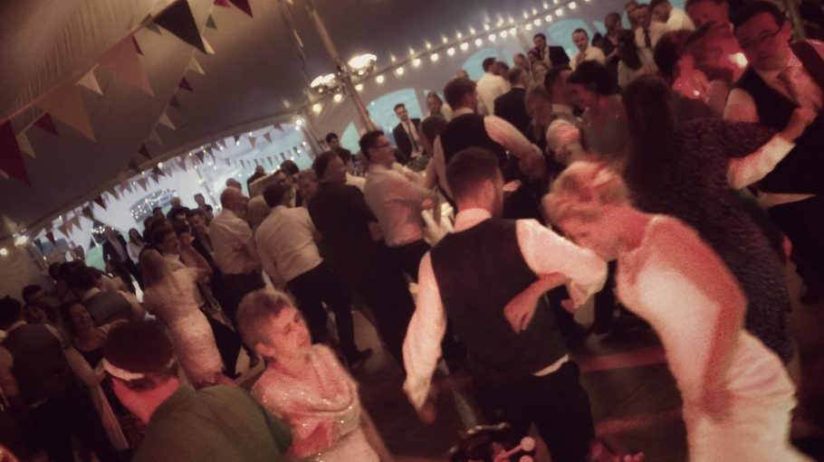 Andy and Naomi's Devon Wedding Ceilidh