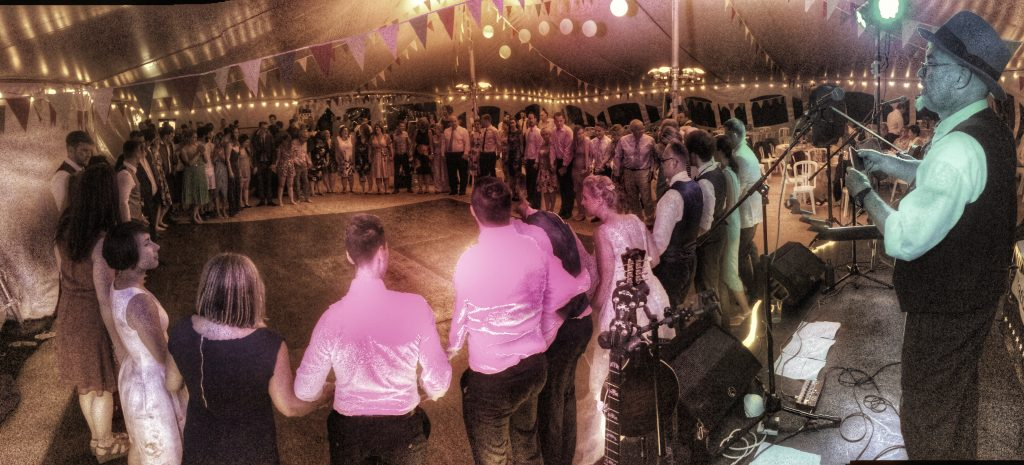 Paddy's Whiskers Playing a Barn Dance in Devon
