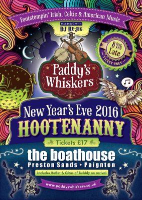Paddy's Whiskers Devon Irish Ceilidh Barn Dance Band