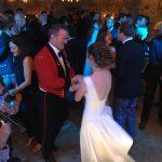 Wedding Barn Dance at Higher Eggbeer Devon