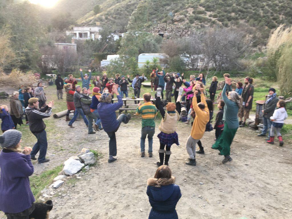 Boxing Day Barn Dance In The Alpujarras, Spain