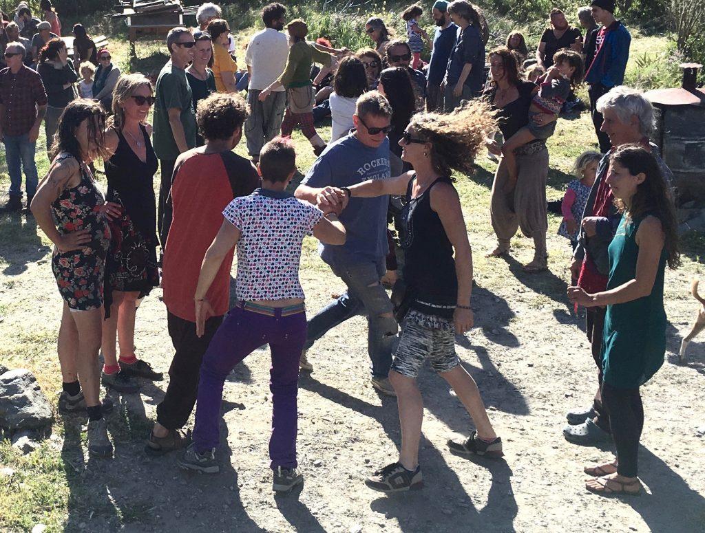 Barn Dance In Orgiva, Spain